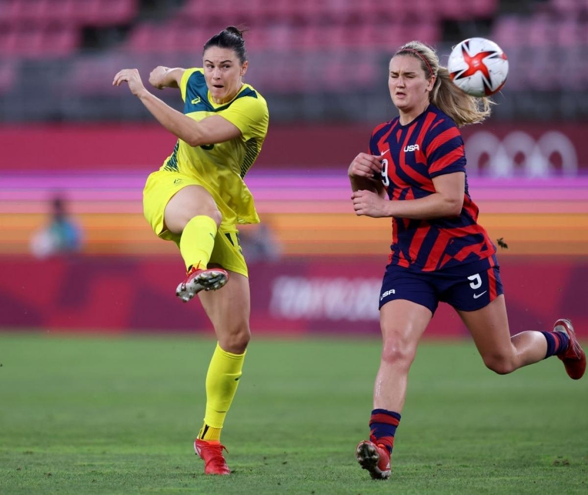 Dù vậy, đại diện đến từ AFC chỉ kịp ghi thêm 1 bàn củaGielnik ở phút 90. Trận đấu kết thúc với chiến thắng 4-3 cùng tấm HCĐ cho ĐT nữ Mỹ./.
