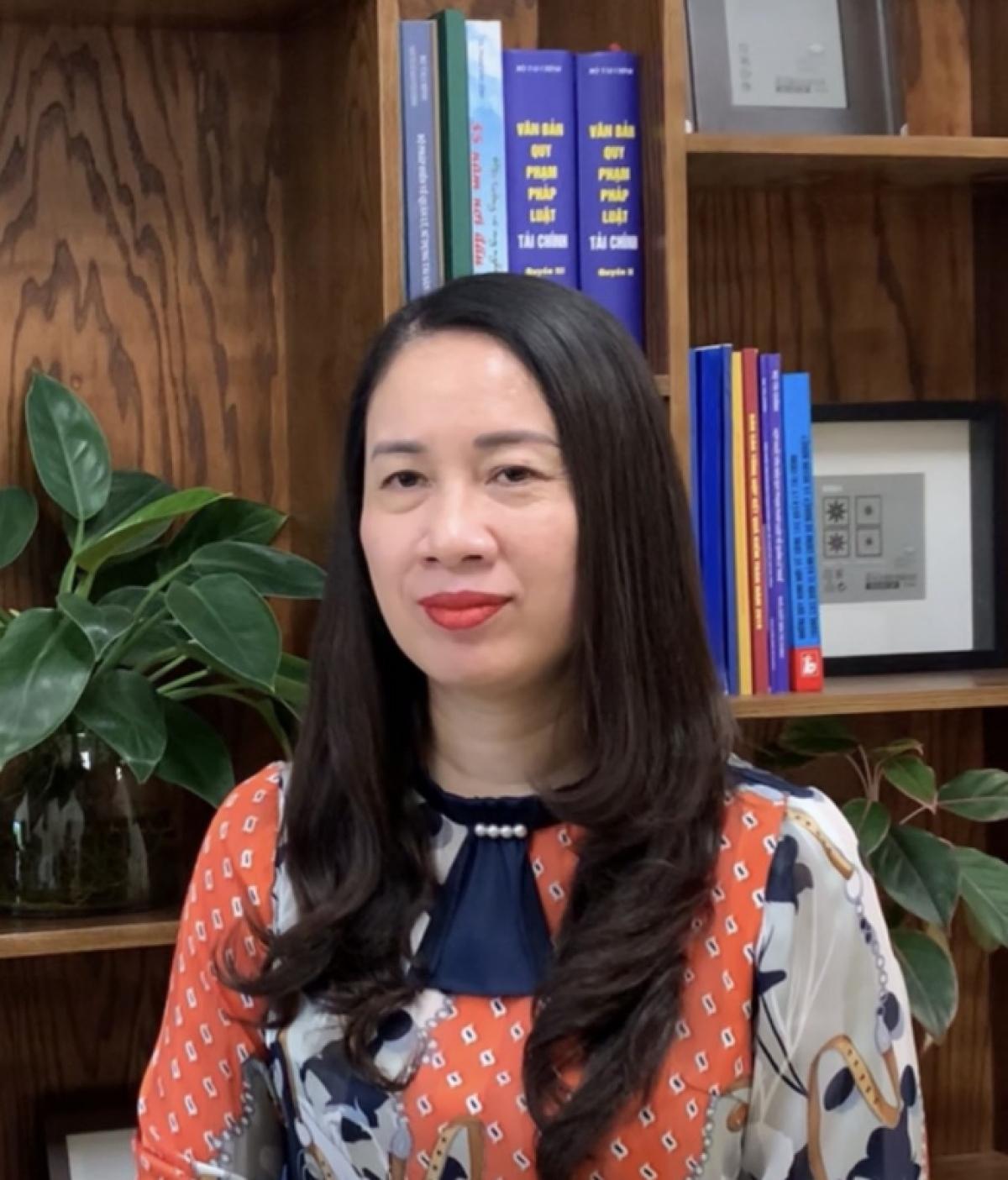 Bà Nguyễn Thị Lan Anh, Vụ trưởng Vụ Quản lý thuế doanh nghiệp nhỏ và vừa, hộ kinh doanh và cá nhân, Tổng cục Thuế