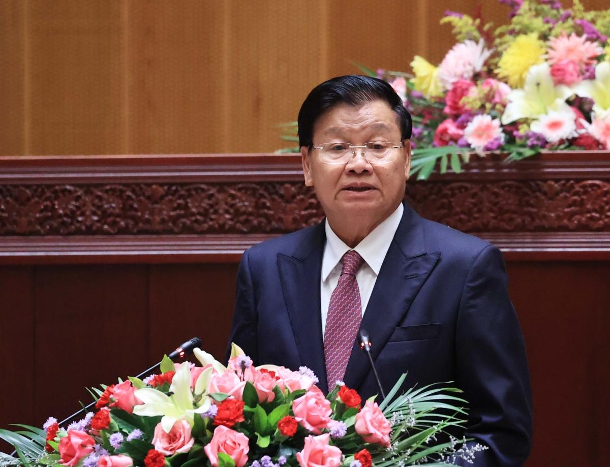 Tổng Bí thư, Chủ tịch nước Lào Thongloun Sisoulith