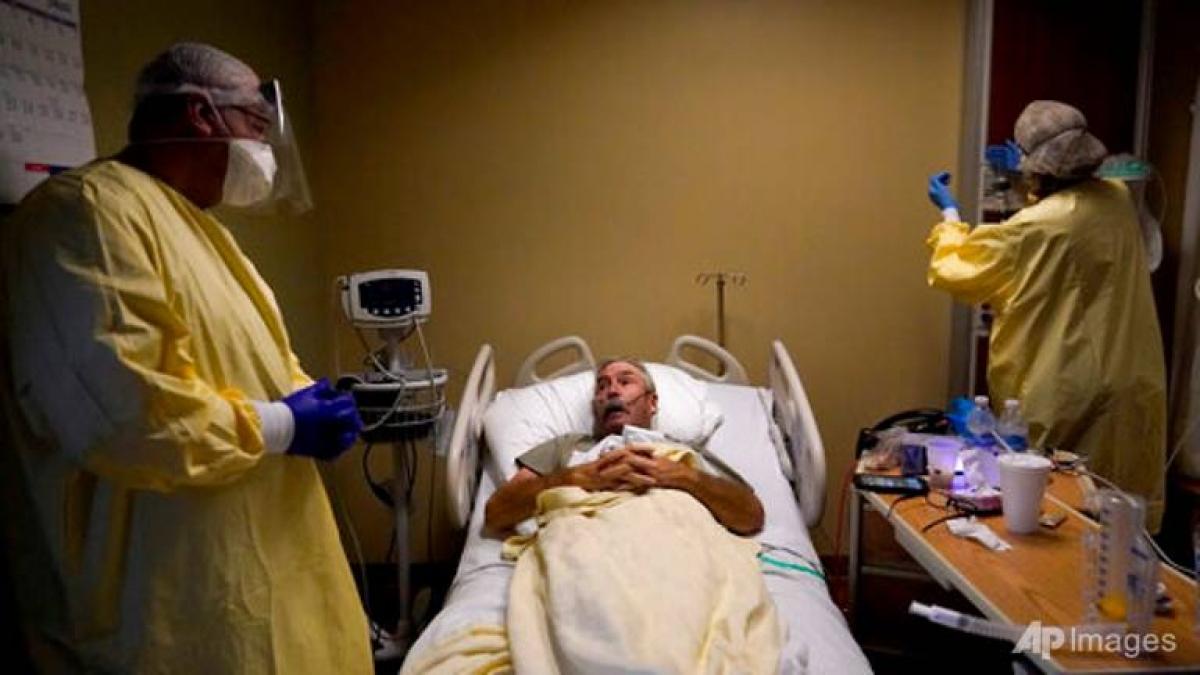 Tính đến 20/7, Missouri có 1.357 bệnh nhân Covid-19 phải nhập viện, gấp gần 13 lần so với 106 bệnh nhân ở Massachussetts. Ảnh: AP
