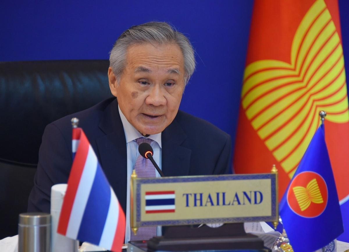 Bộ trưởng Ngoại giao Thai Lan tại hội nghị AMM 54. Ảnh: Bộ Ngoại giaoThái Lan