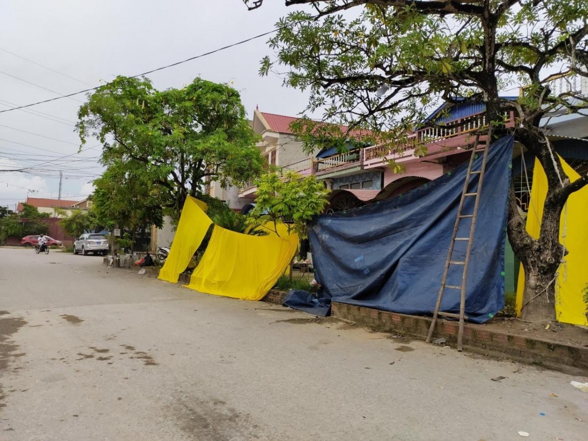 Căn nhà ông Hải, nơi xảy ra vụ việc.