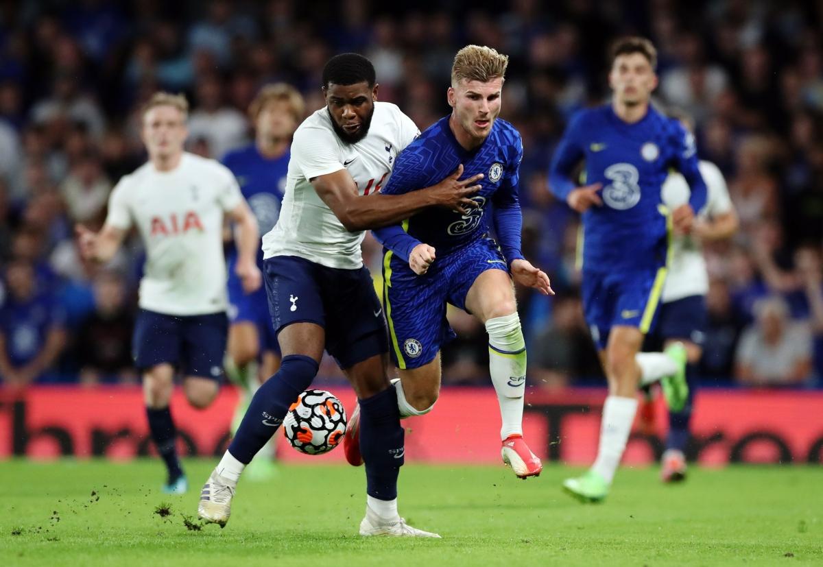 Chelsea và Tottenham cống hiến cho khán giả trận đấu mãn nhãn với 4 bàn thắng chia đều cho 2 đội. (Ảnh: Reuters).
