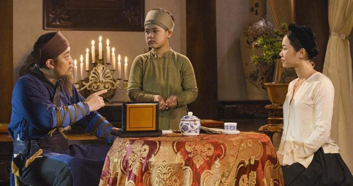 Hồ Phong trong phim 'Đại thi hào Nguyễn Du'.