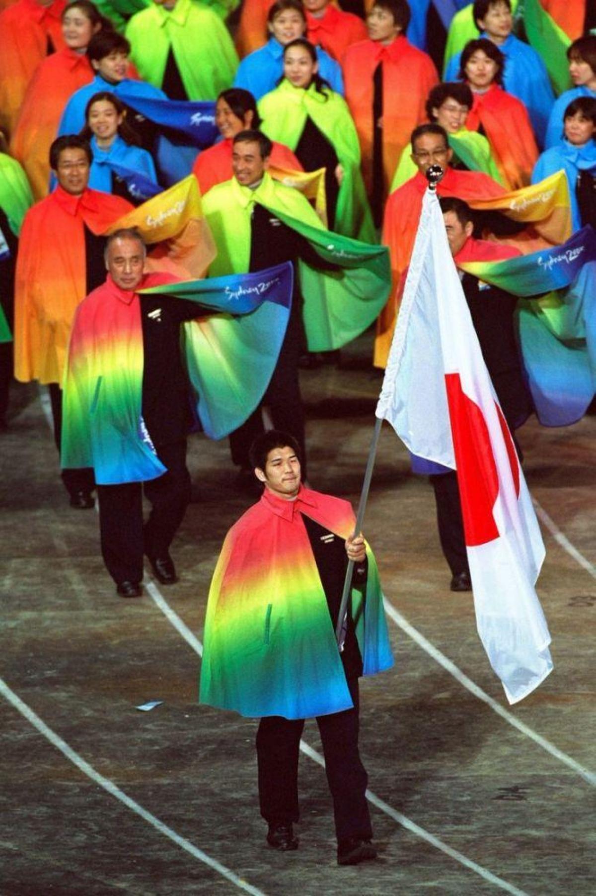 Đội tuyểnNhật Bản tại Thế vận hội năm 2000.