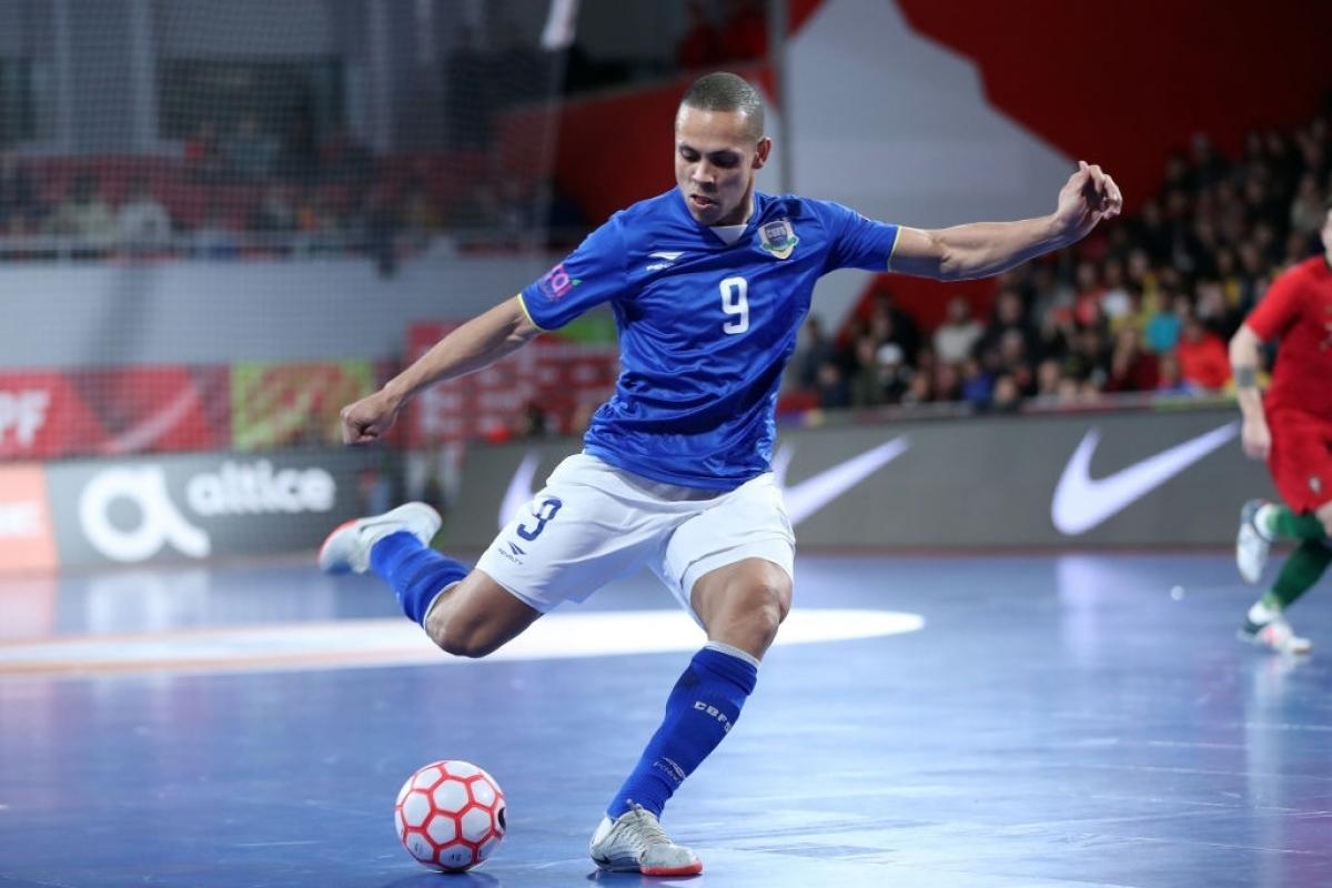 Siêu sao Ferrao là cầu thủ đáng chú ý nhất của ĐT Futsal Brazil dự Futsal World Cup 2021. (Ảnh: Getty).