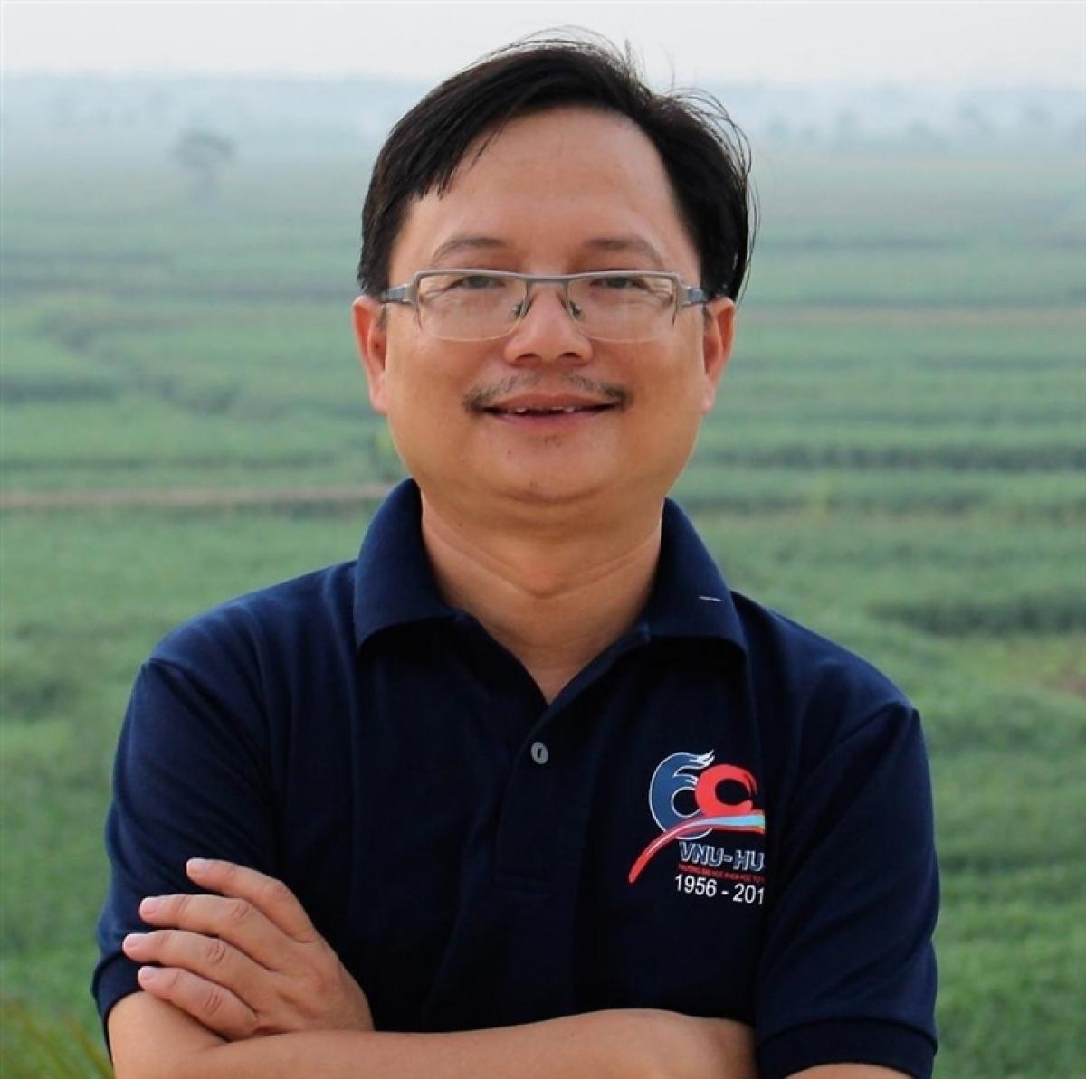 PGS.TSKH Vũ Hoàng Linh, Hiệu trưởng Trường Đại họcKhoa học Tự nhiên. (Ảnh: ĐH Khoa học Tự nhiên)