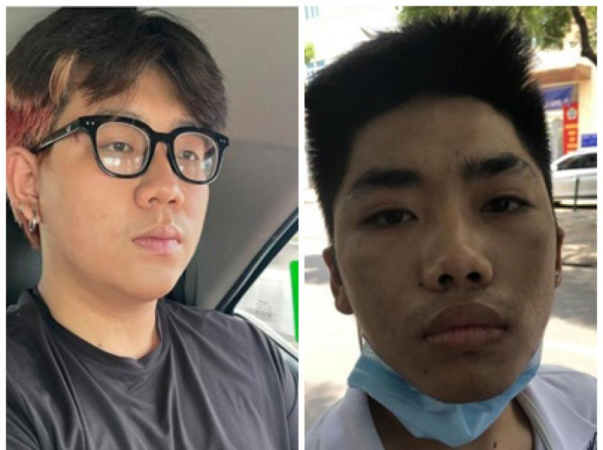 02 đối tượng: Dương (trái) và Hiếu (phải)