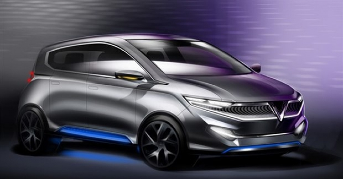 A VinFast electric car design. — Photo courtesy of Vingroup