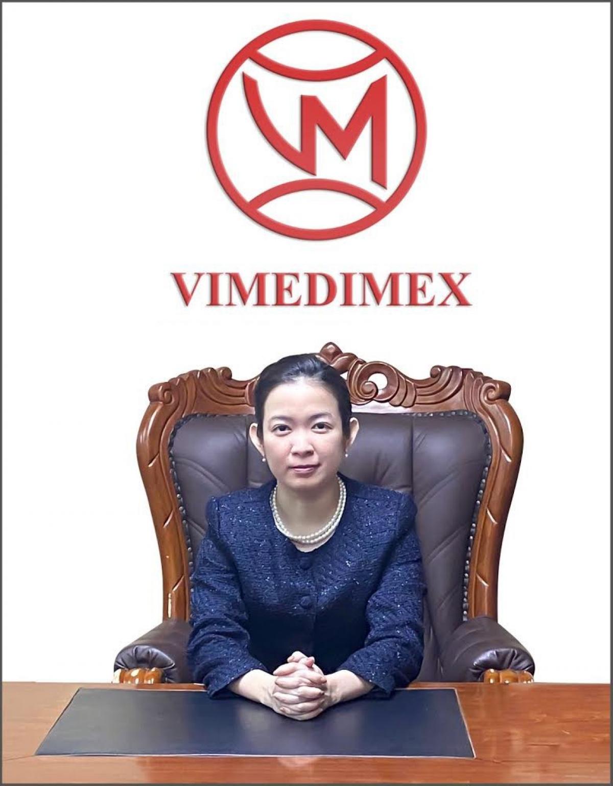 Ths.BS Trần Mỹ Linh - Tổng giám đốc Công ty cổ phần y dược phẩm Vimedimex.