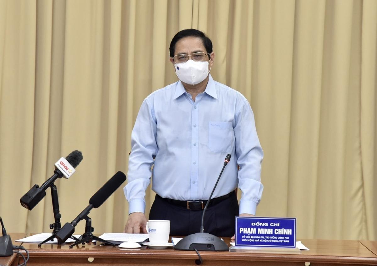 Thủ tướng Phạm Minh Chính làm việc với Ban Quản lý Lăng Chủ tịch Hồ Chí Minh