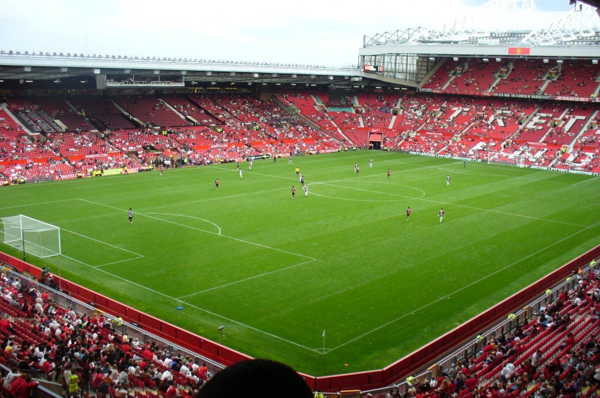Sân vận động Old Trafford tại thành phố Manchester. Nguồn: Wikipedia