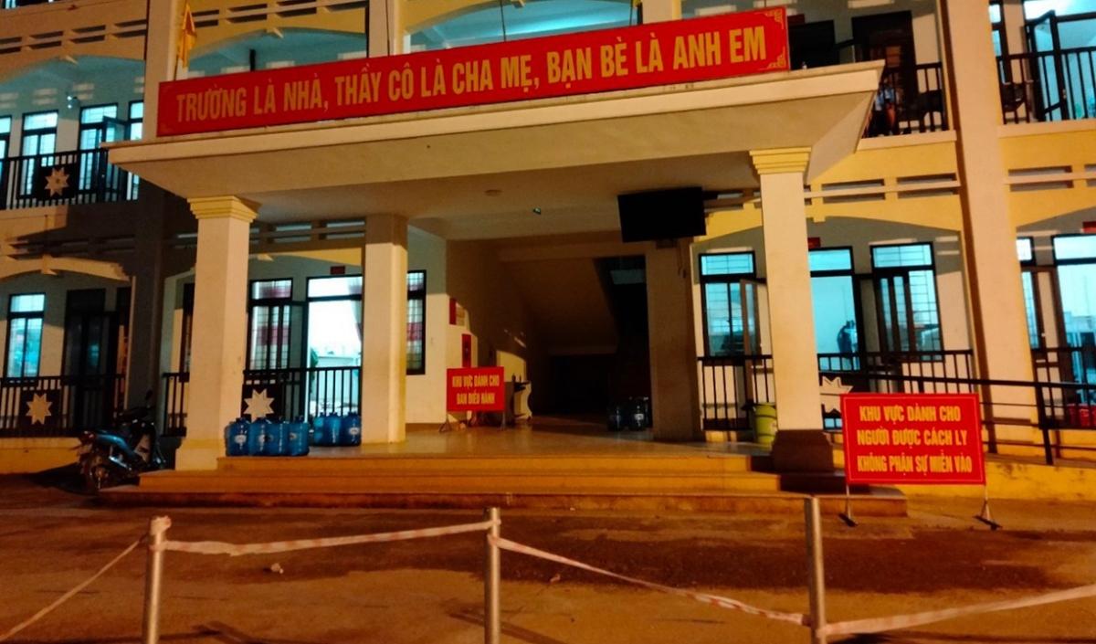Khu điều trị cách ly tập trung huyện Phù Yên, tỉnh Sơn La.