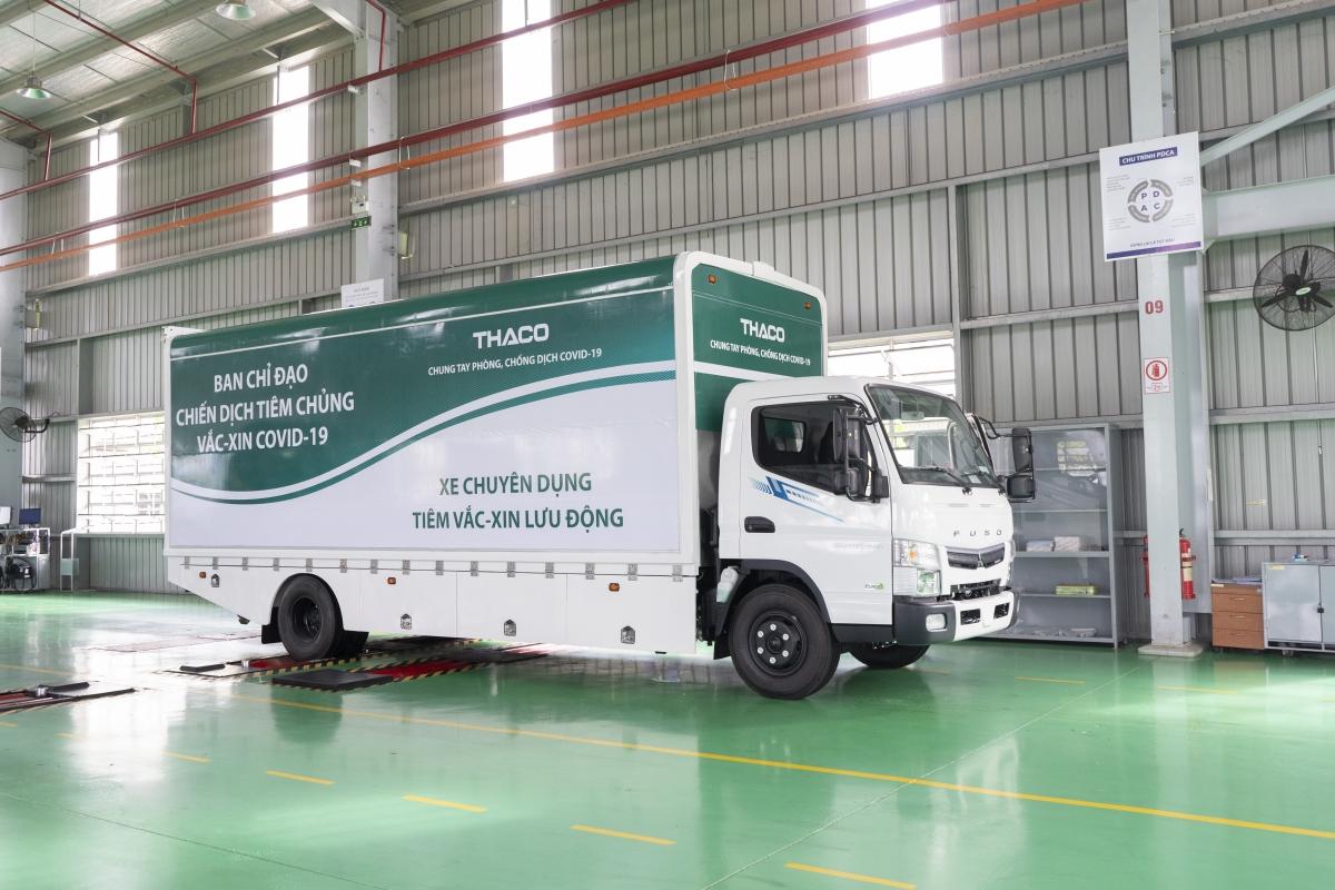 Vì vậy, nếu nhìn bề ngoài, xe chuyên dụng nàykhông khác biệt xe tải thông thường.