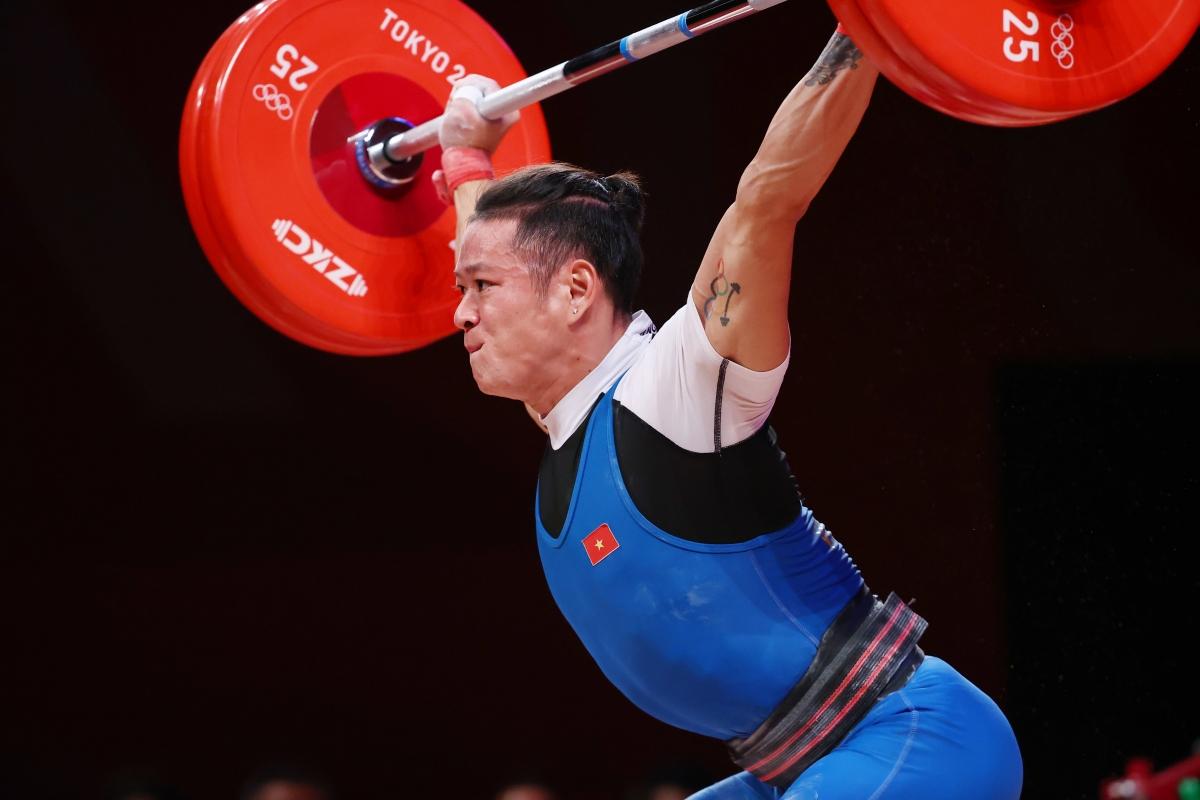 Thạch Kim Tuấn là một trong những VĐV Việt Nam có thành tích không tốt ở Olympic Tokyo. (Ảnh: Reuters).