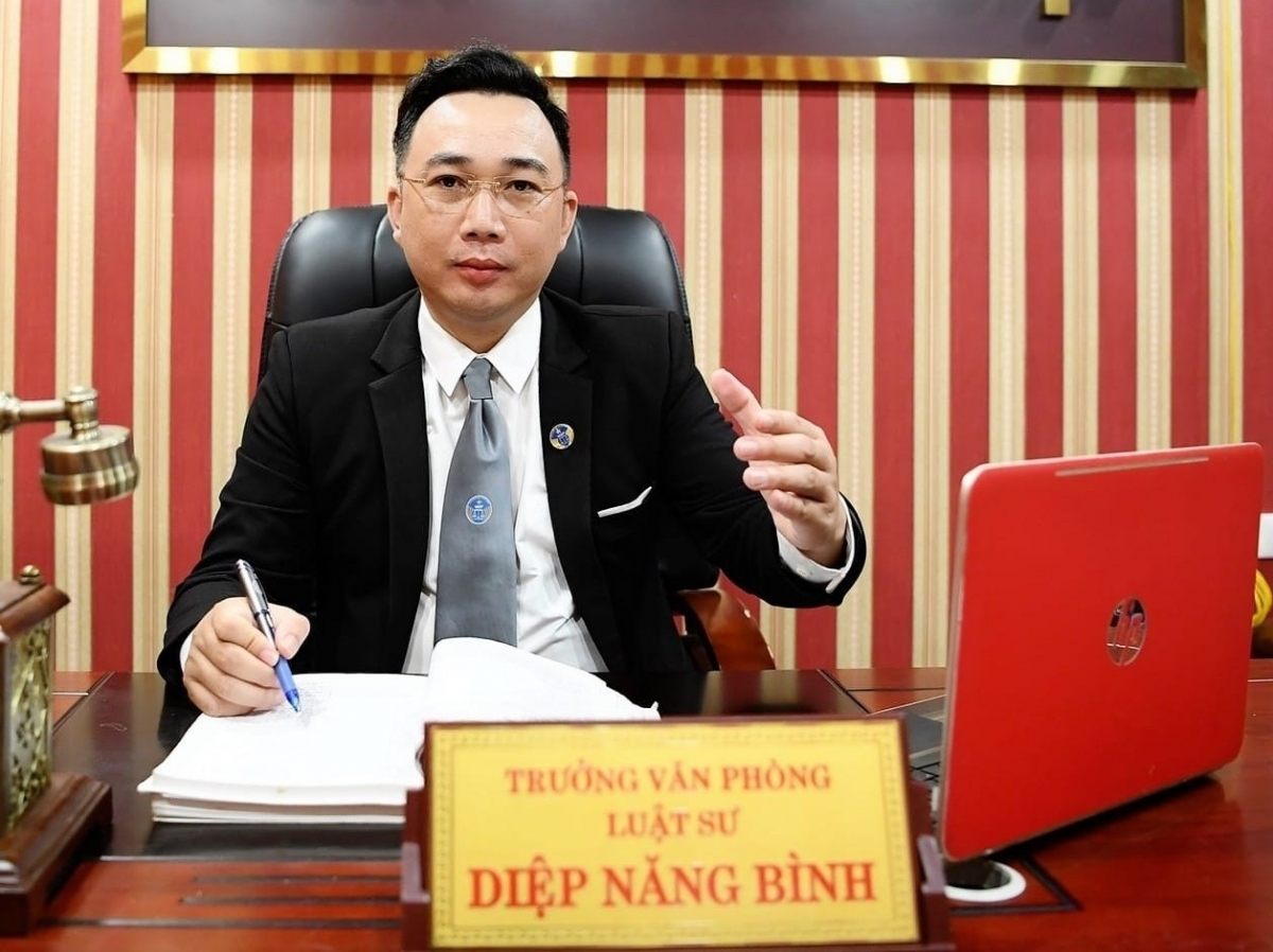 Luật sư Diệp Năng Bình - Trưởng Văn phòng luật sư Tinh Thông Luật.