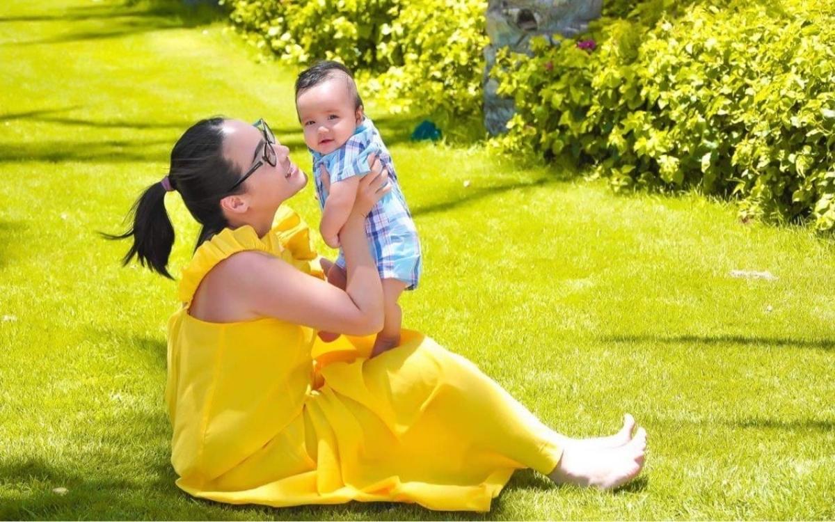 Mẹ con chị Gia Linh đã vượt qua giông tố Covid-19. Ảnh: Gia Linh.