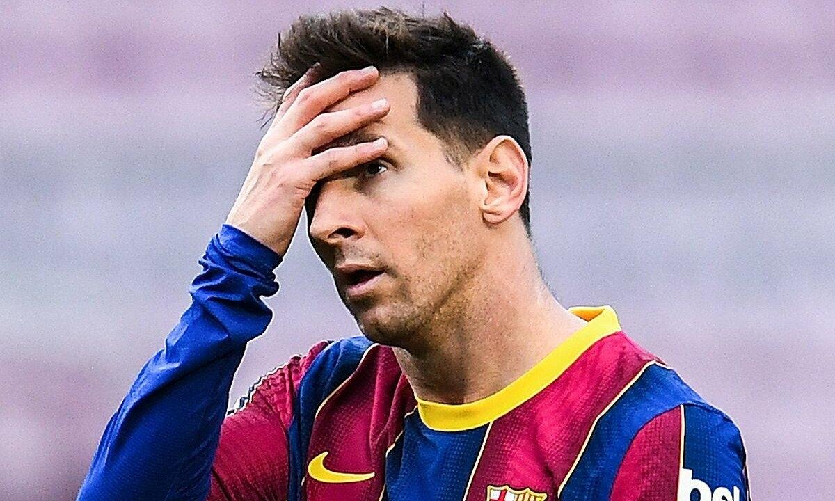 Messi chính thức chia tay Barca. (Ảnh: Getty)