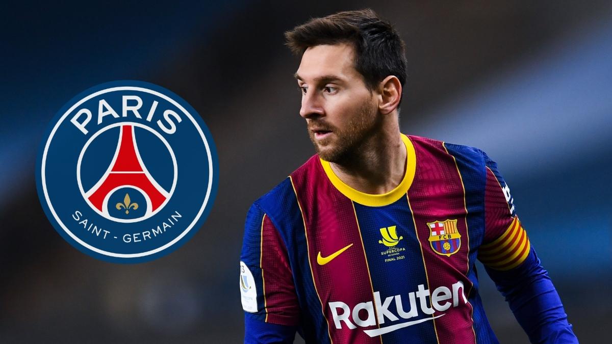 Messi sẽ cập bến PSG theo dạng chuyển nhượng tự do? (Ảnh: Goal)