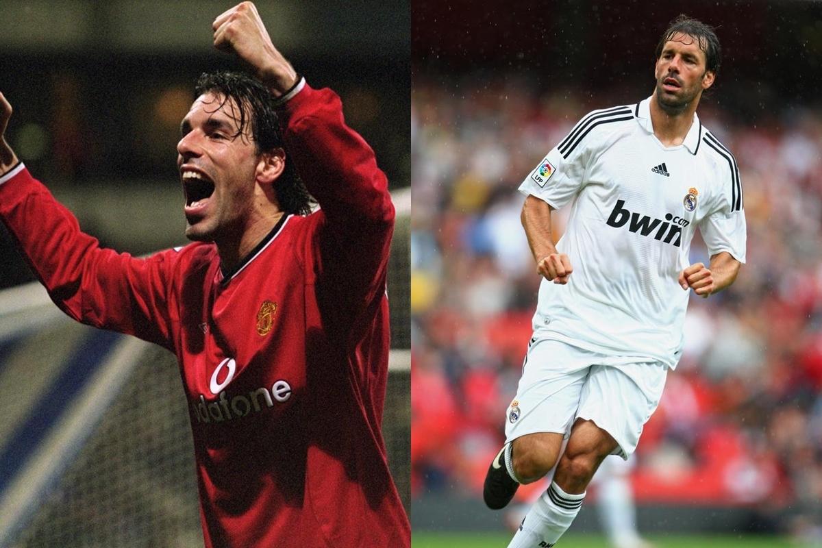 Ruud Van Nistelrooy đã giành 1 chức vô địch Premier League khi chơi cho MU (2001-2006) và 2 chức vô địch La Liga khi chuyển sang Real Madrid (2006-2010).