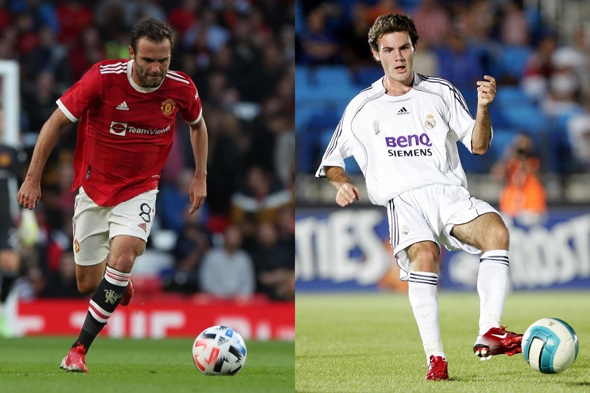 Juan Mata trưởng thành từ lò đào tạo Real Madrid, từng có 39 lần ra sân và ghi 10 bàn cho đội trẻ Real Madrid nhưng chưa từng chơi cho đội 1. Hiện tại, tiền vệ người Tây Ban Nha đang khoác áo MU sau khi chuyển tới từ Chelsea hồi năm 2014.
