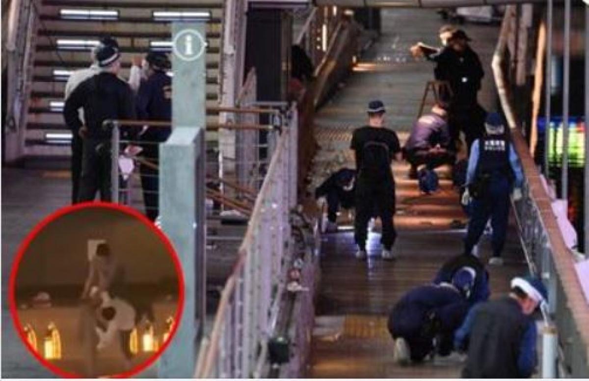 Hiện trường nơi nam thanh niên người Việt bị đánh dã man và bị ném xuống sông ở khu Namba, Osaka, Nhật Bản.