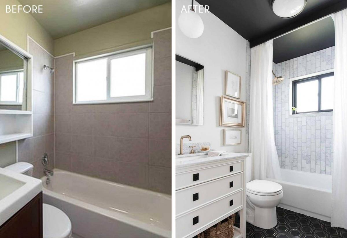 Với nhiều ý tưởng khác nhau về màu sắc phòng tắm thì hãy tô điểm cho nó bởi một lớp sơn mới, có thể sơn tường, ván sàn hoặc thậm chí là trần nhà với những gam màu yêu thích và phù hợp nhất.