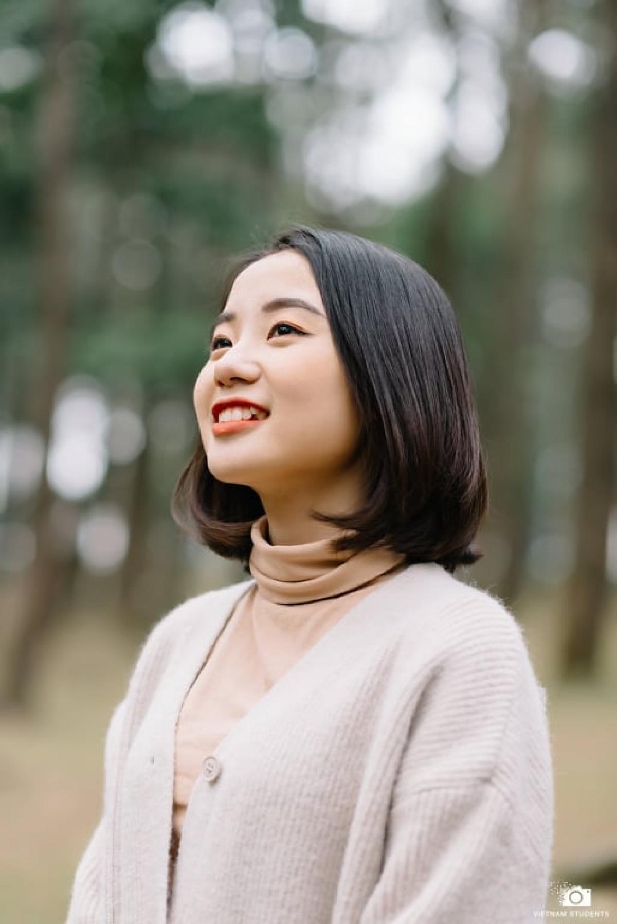 Nguyễn Phương Nhung, Trường THPT chuyên KHTN chính thức là sinh viên Đại học KTQD