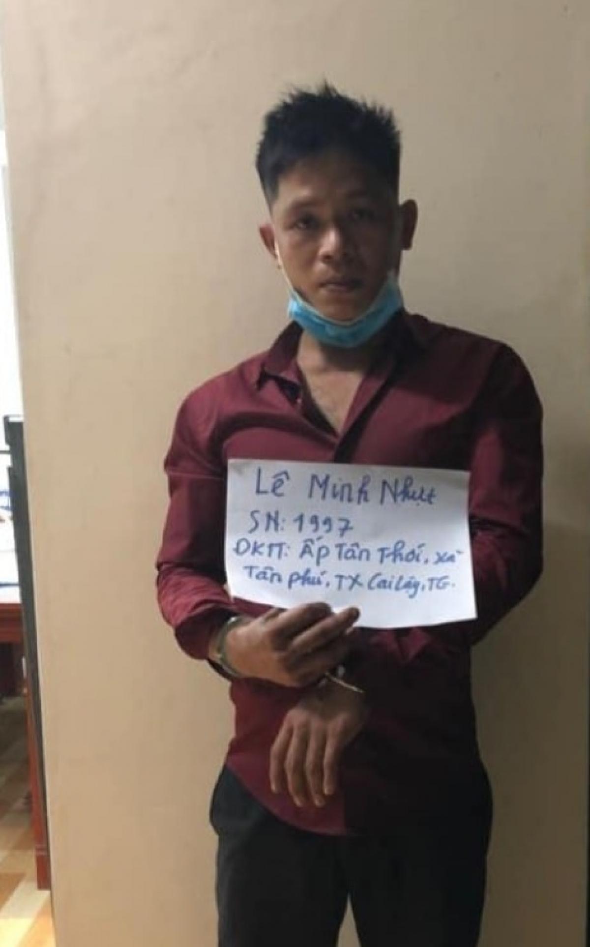 Lê Minh Nhựt bị tạm giữ vì không chấp hành quy định phòng chống dịch (Ảnh: CTV)