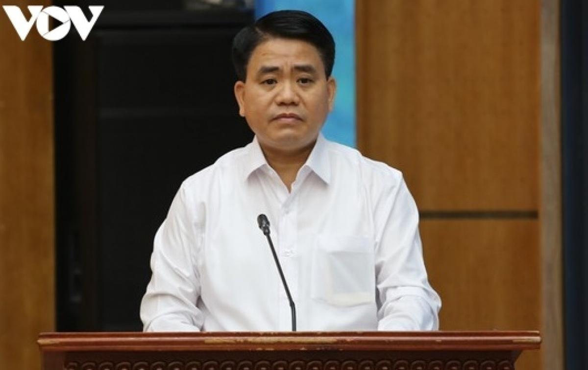 Ông Nguyễn Đức Chung, cựu Chủ tịch UBND TP Hà Nội