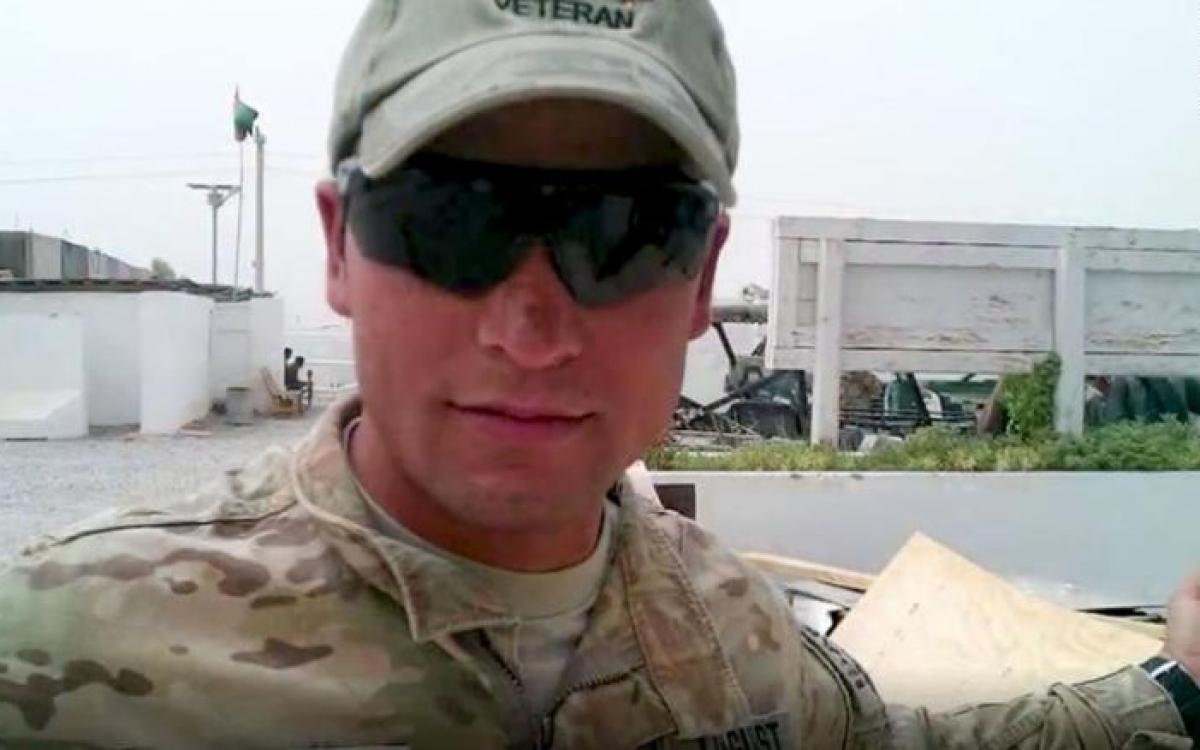 Chân dung Sohail Pardis - một phiên dịch viên người Afghanistan từng làm việc cho quân đội Mỹ, rồi bị Taliban sát hại vào tháng 5/2021 để trả thù cho việc cộng tác với người Mỹ. Ảnh: Gia đình nhân vật cung cấp.
