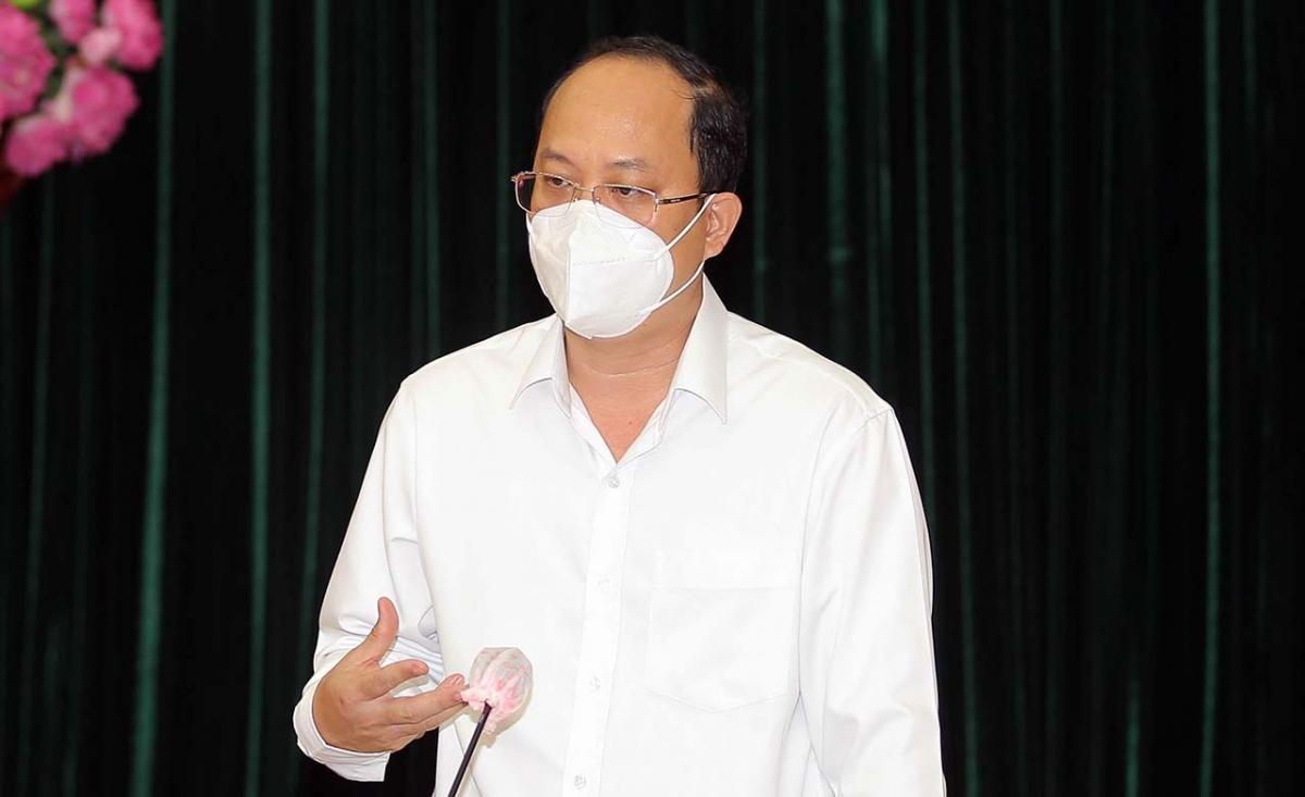 Phó Bí thư TP.HCM Nguyễn Hồ Hải.