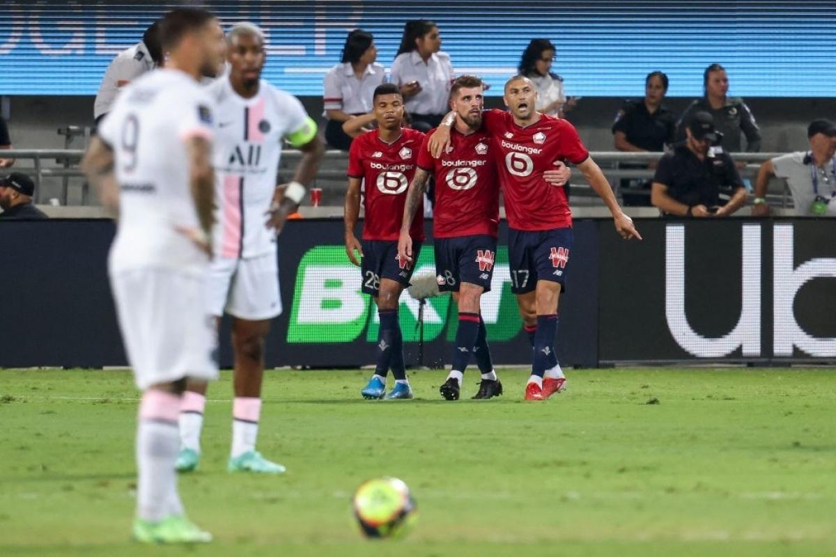Xeka ghi bàn duy nhất đem về chiến thắng cho Lille (Ảnh: Getty).