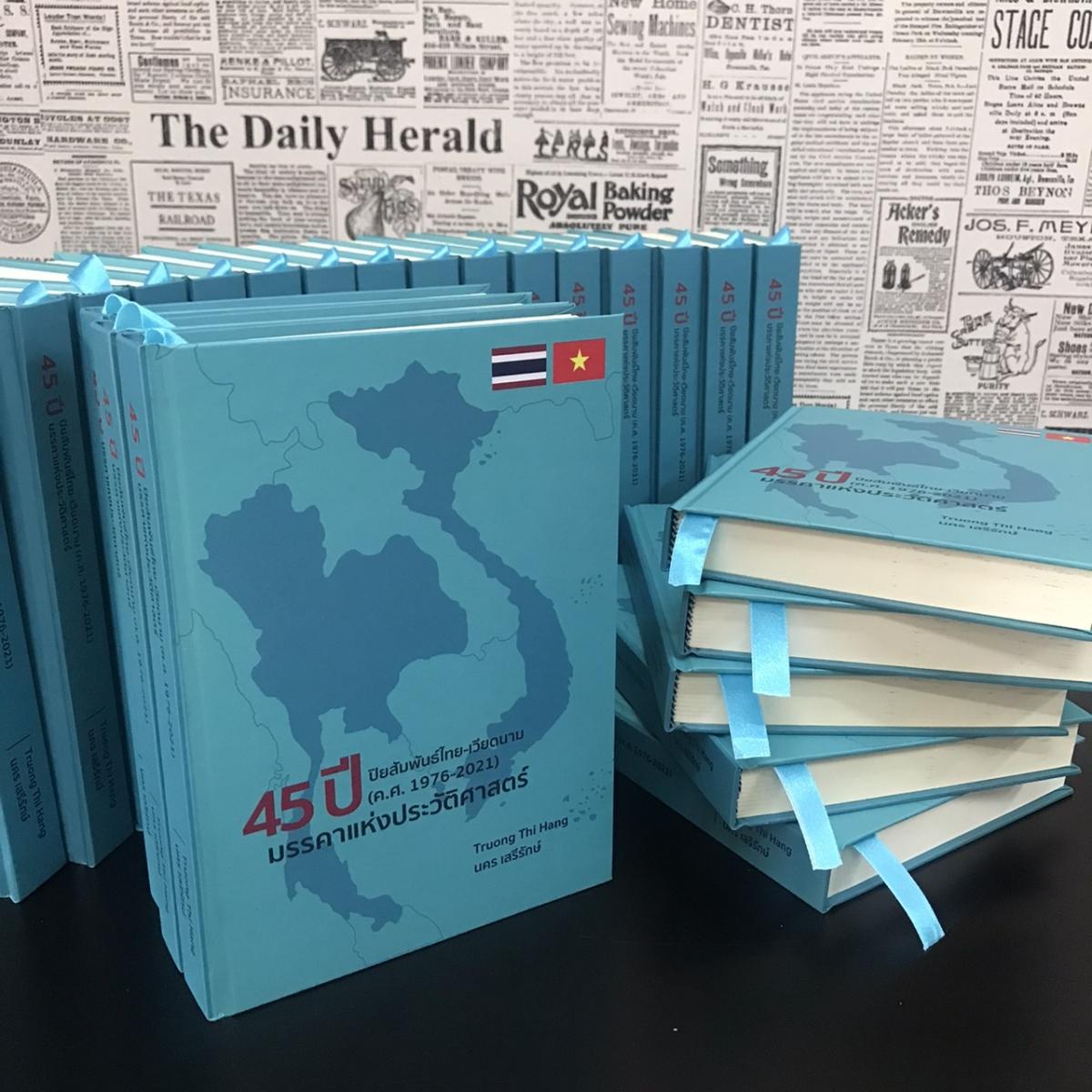 Sách 45 năm quan hệ Việt Nam - Thái Lan