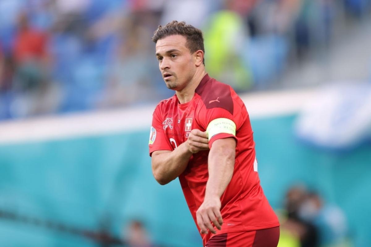 Liverpool đạt thỏa thuận bán Shaqiri cho Lyon (Ảnh: Getty).