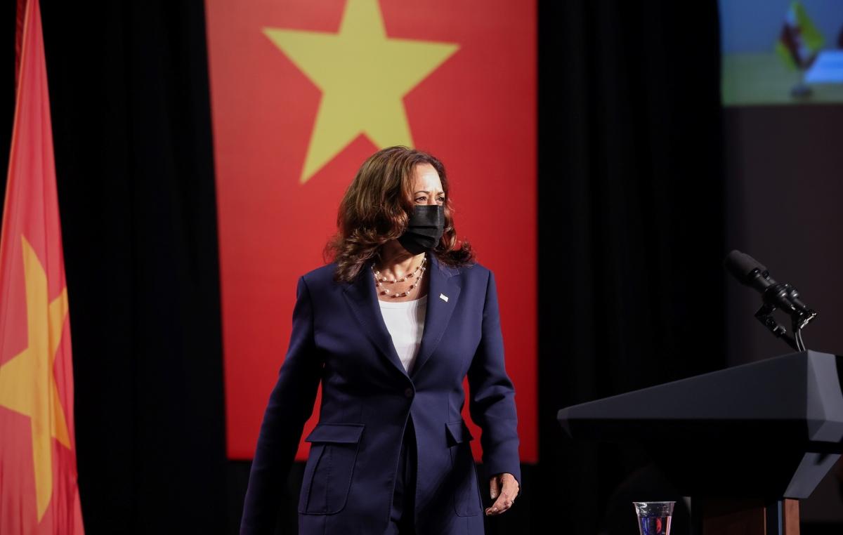 Phó Tổng thống Mỹ Kamala Harris. Ảnh: Reuters