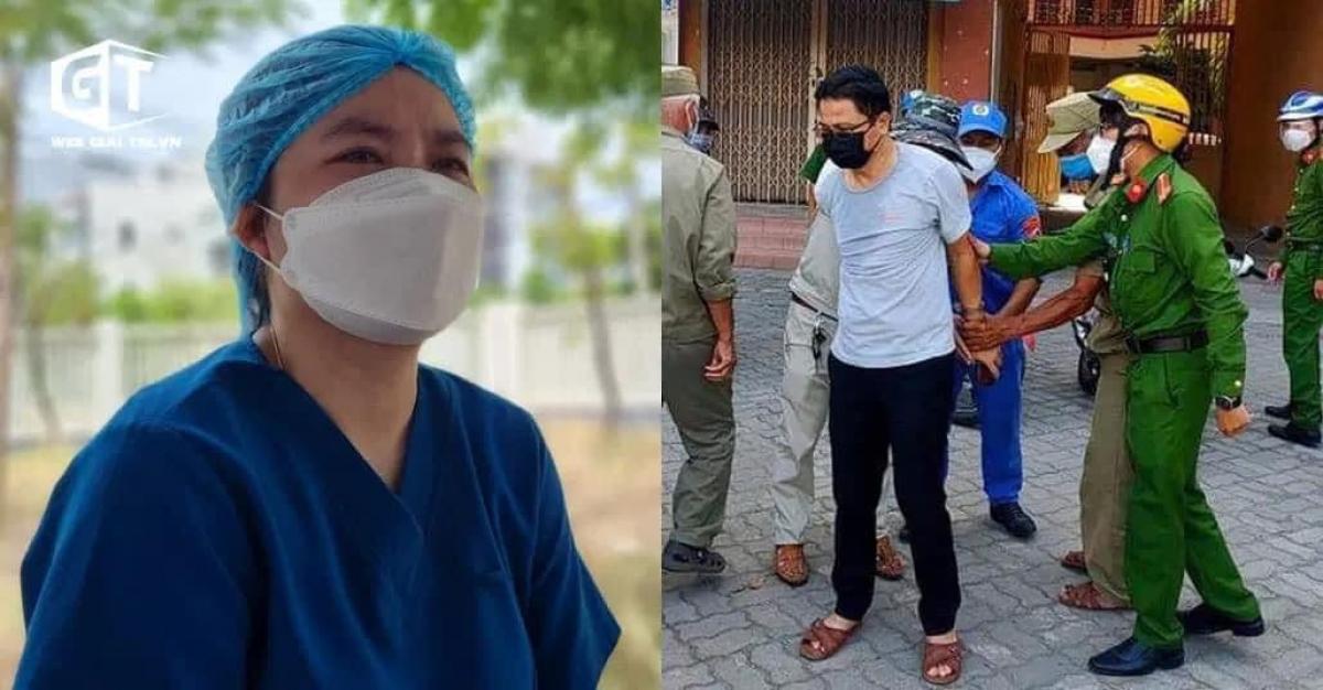 Vụ việc xảy ra tại quận Sơn Trà, Đà Nẵng. Ảnh: Báo Giao thông