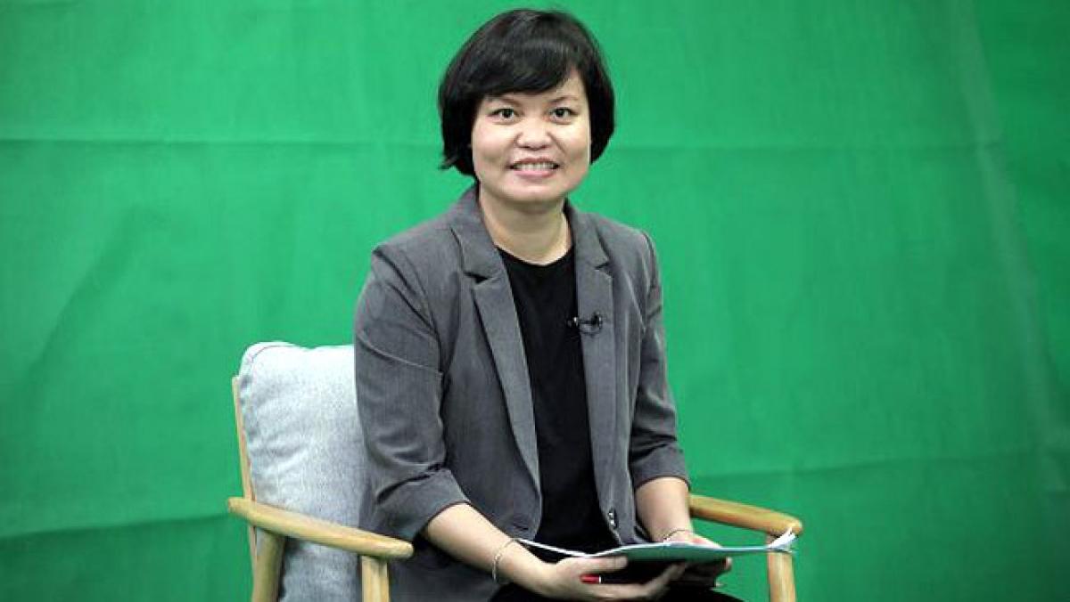 Bà Nguyễn Thị Thu Trang, Giám đốc Trung tâm WTO và Hội nhập, Phòng Thương mại và Công nghiệp Việt Nam (VCCI).