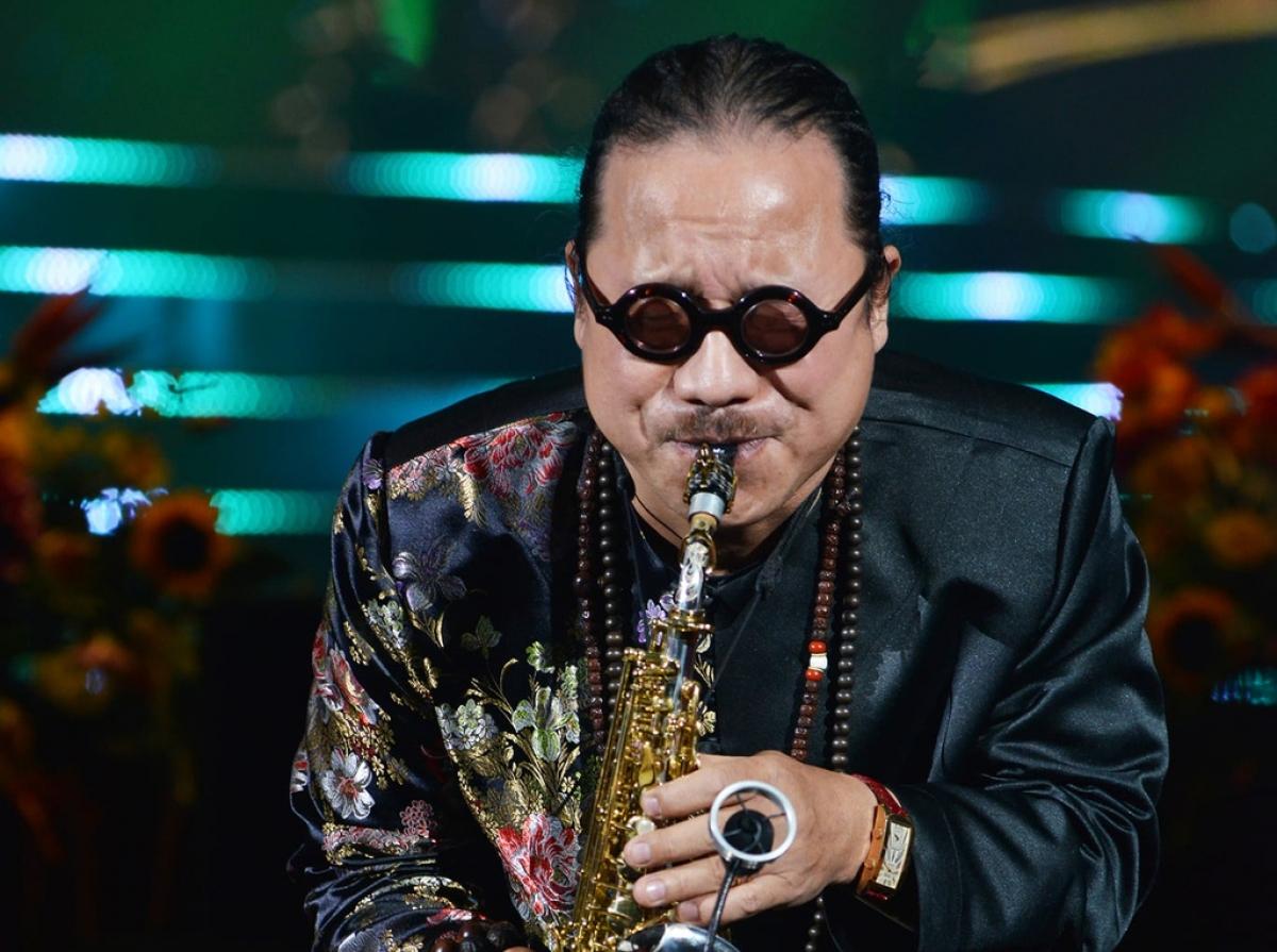 Nghệ sĩ saxophone Trần Mạnh Tuấn.