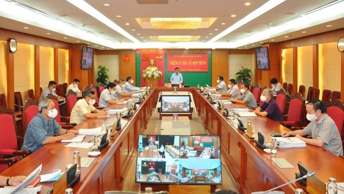 Kỳ họp thứ 5 của Ủy ban Kiểm tra Trung ương