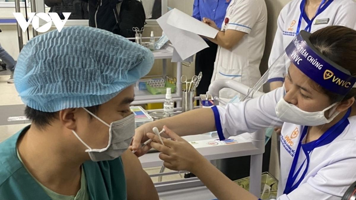 Chiến dịch tiêm vaccine phòng Covid-19 được phát động triển khai đồng loạt tại các cơ sở tiêm chủng trên toàn quốc từ ngày 10/7