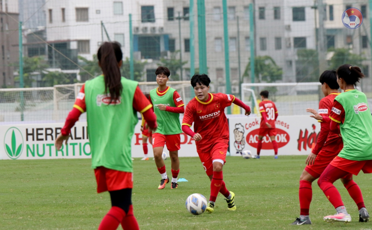 ĐT nữ Việt Nam tiếp tục dẫn đầu Đông Nam Á trên BXH FIFA mới nhất. (Ảnh: VFF).