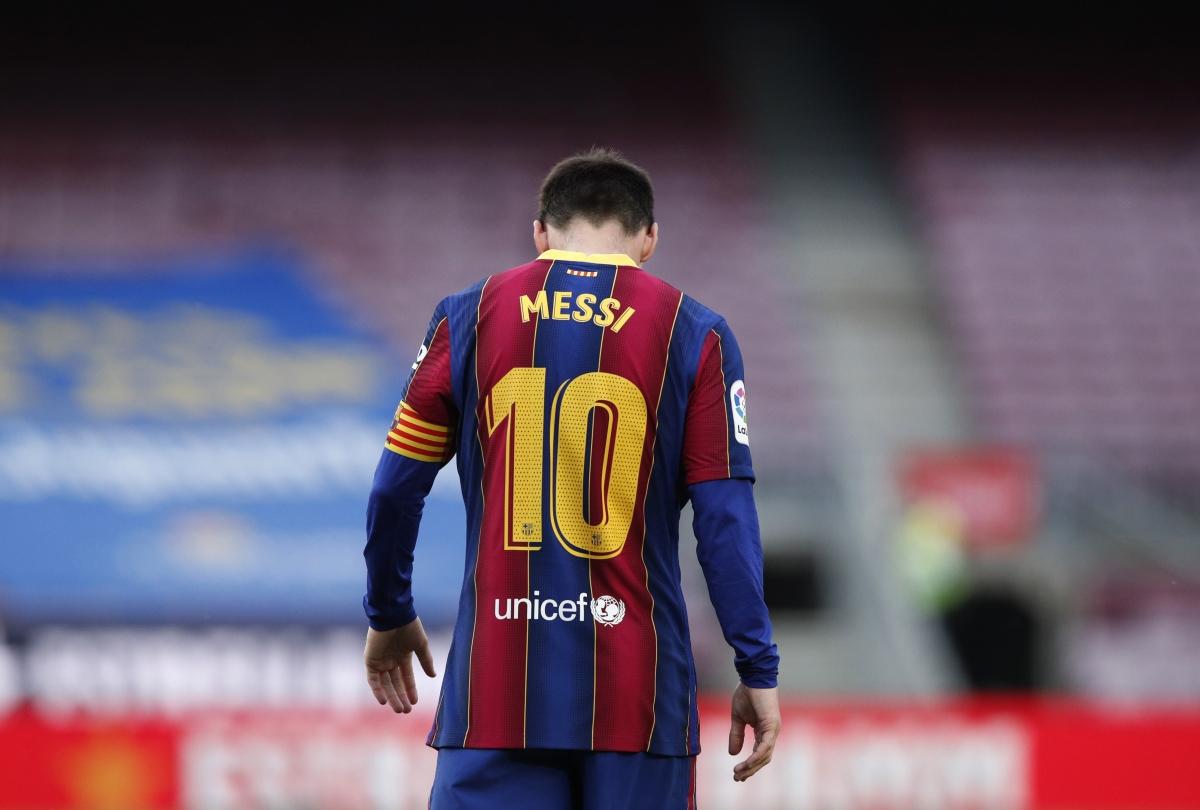Lionel Messi chia tay Barca là cú sốc với thế giới bóng đá. (Ảnh: Reuters)