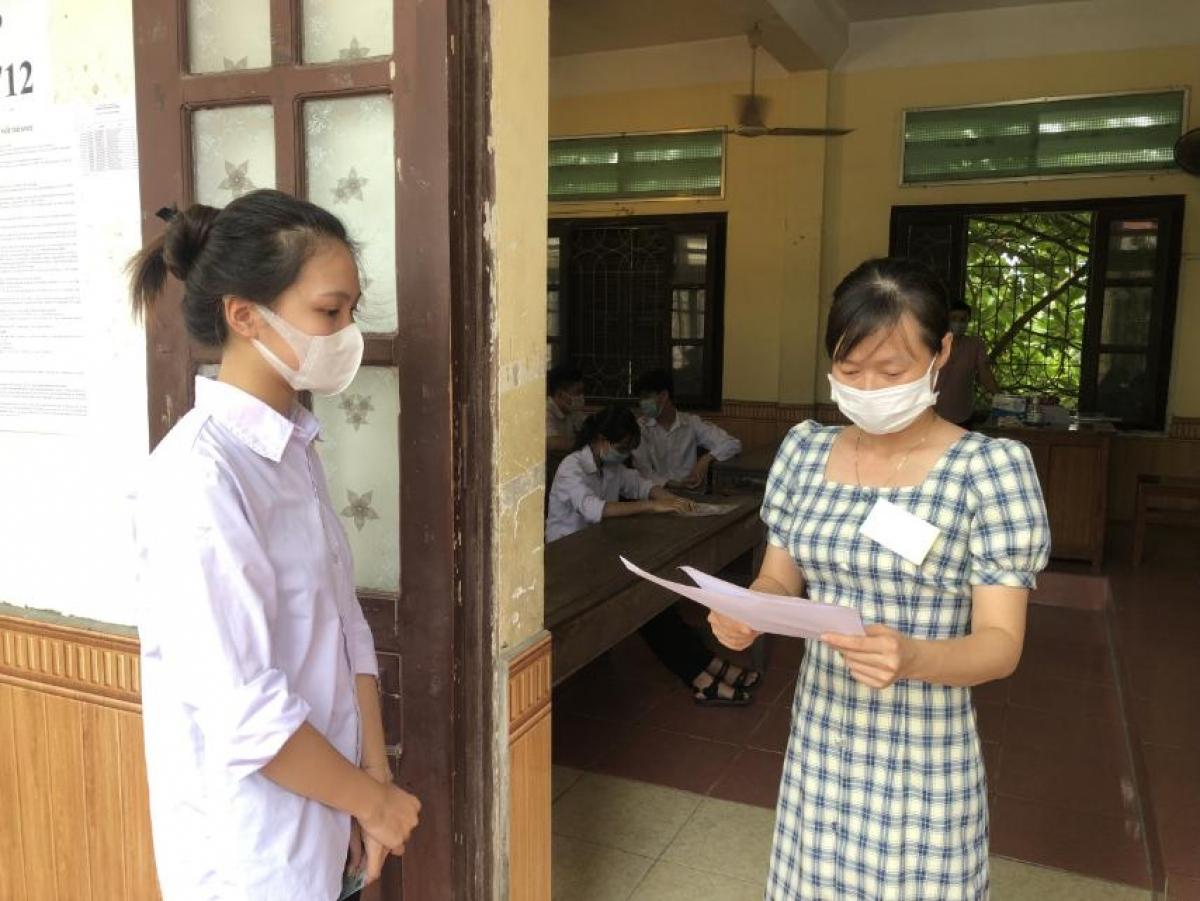 Sở GD-ĐT Hải Phòng chỉ đạo điểm thi thực hiện tốt quy chế kỳ thi và phòng chống dịch.