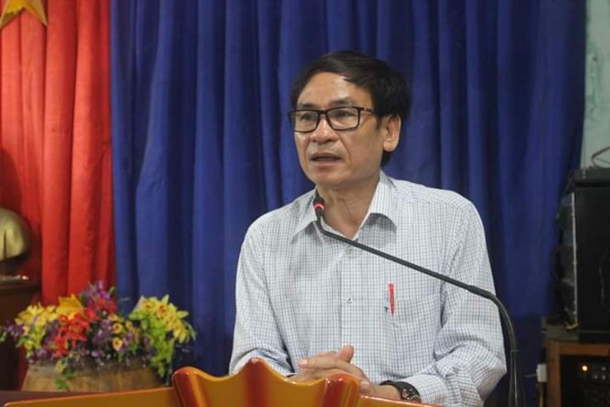 Ông Võ Văn Dũng - Phó Trưởng Ban Tuyên giáo Tỉnh ủy Nghệ An