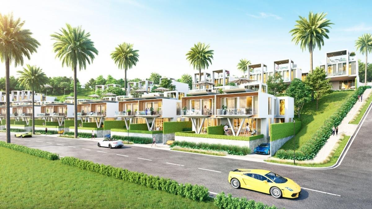 Phối cảnh Biệt thự Waikiki tại NovaWorld Phan Thiet (Bình Thuận).