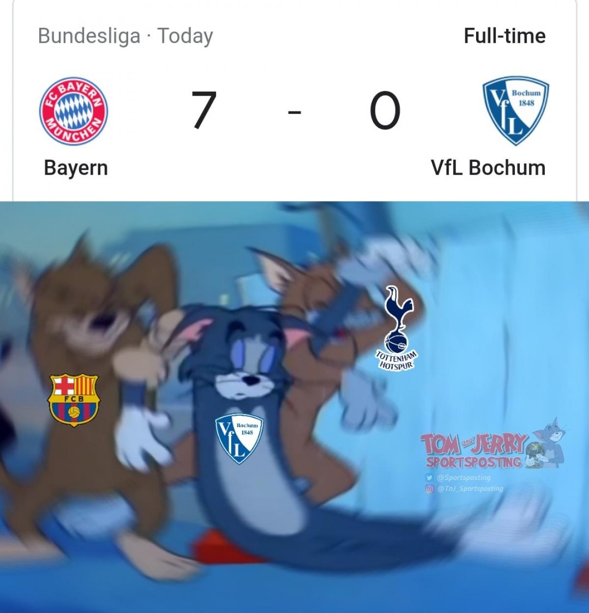 """Bochum là """"nạn nhân"""" mới nhất của Bayern Munich. (Ảnh: TNJ Sportposting)."""