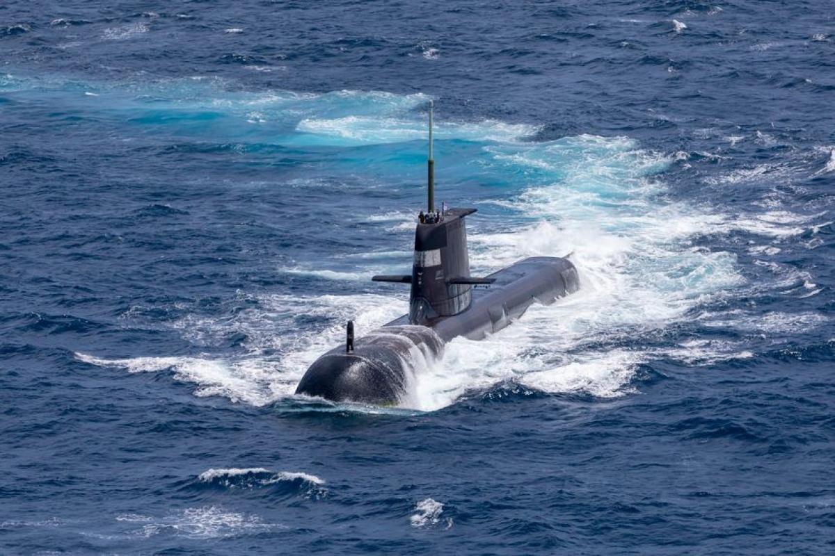 Australia có thể mất tới 3 năm để chính thức rút khỏi thỏa thuận tàu ngầm với Pháp. Ảnh:Australia Royal Navy