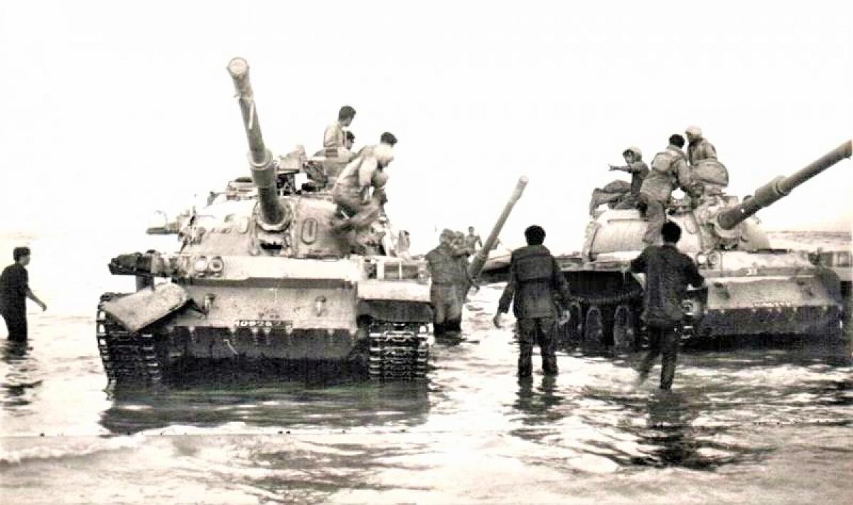 Xe tăng Tiran Israel cải biên từ T-54/55 của Liên Xô; Nguồn: topwar.ru