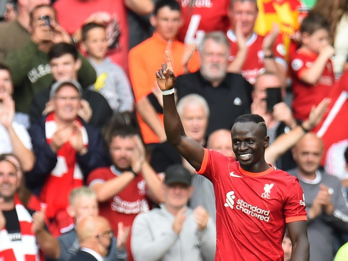 Tiền đạo: Sadio Mane (Liverpool)